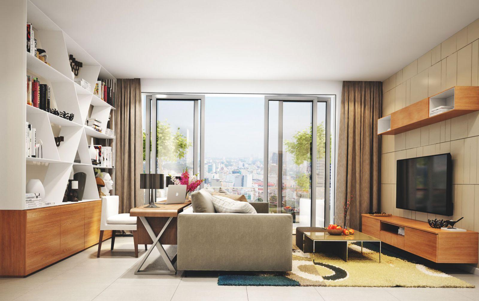 Cho thuê căn hộ chung cư De Capella Quận 2